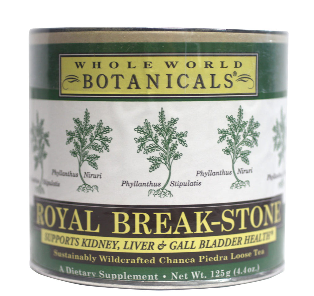 Whole World Botanicals, Royal Chanca Piedra (Break-Stone) Tea (125g) - Hu Organics