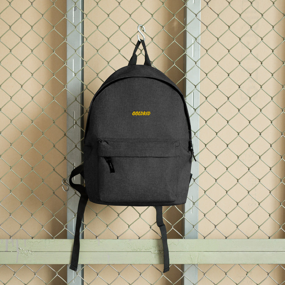 #1 Embroidered Backpack