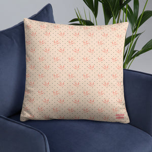 Swallow Print Basic Pillow
