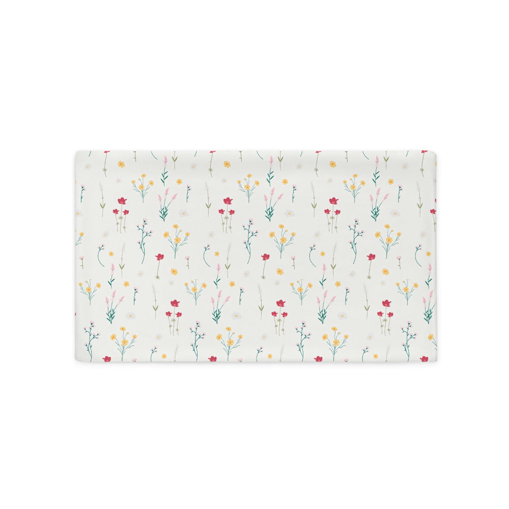 Flowers Pillow Case