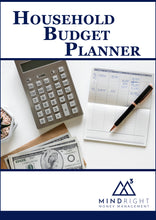 Load image into Gallery viewer, The Household Budget Planner