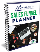 Load image into Gallery viewer, Sales Funnel Planner