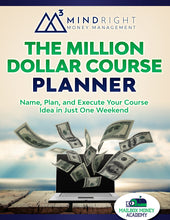 Load image into Gallery viewer, The Million Dollar Course Planner