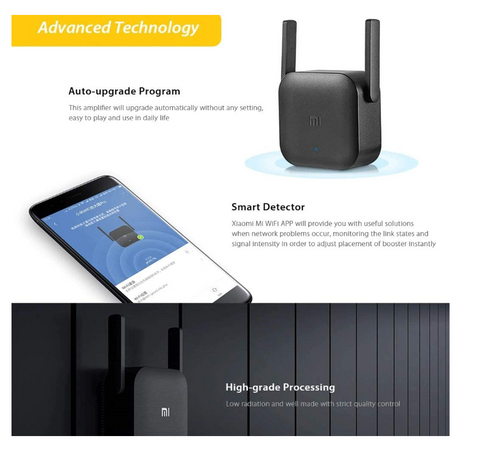 WiFi Extender Pro™ WiFi Repeater Booster Amplifier Extender 300Mbps Range