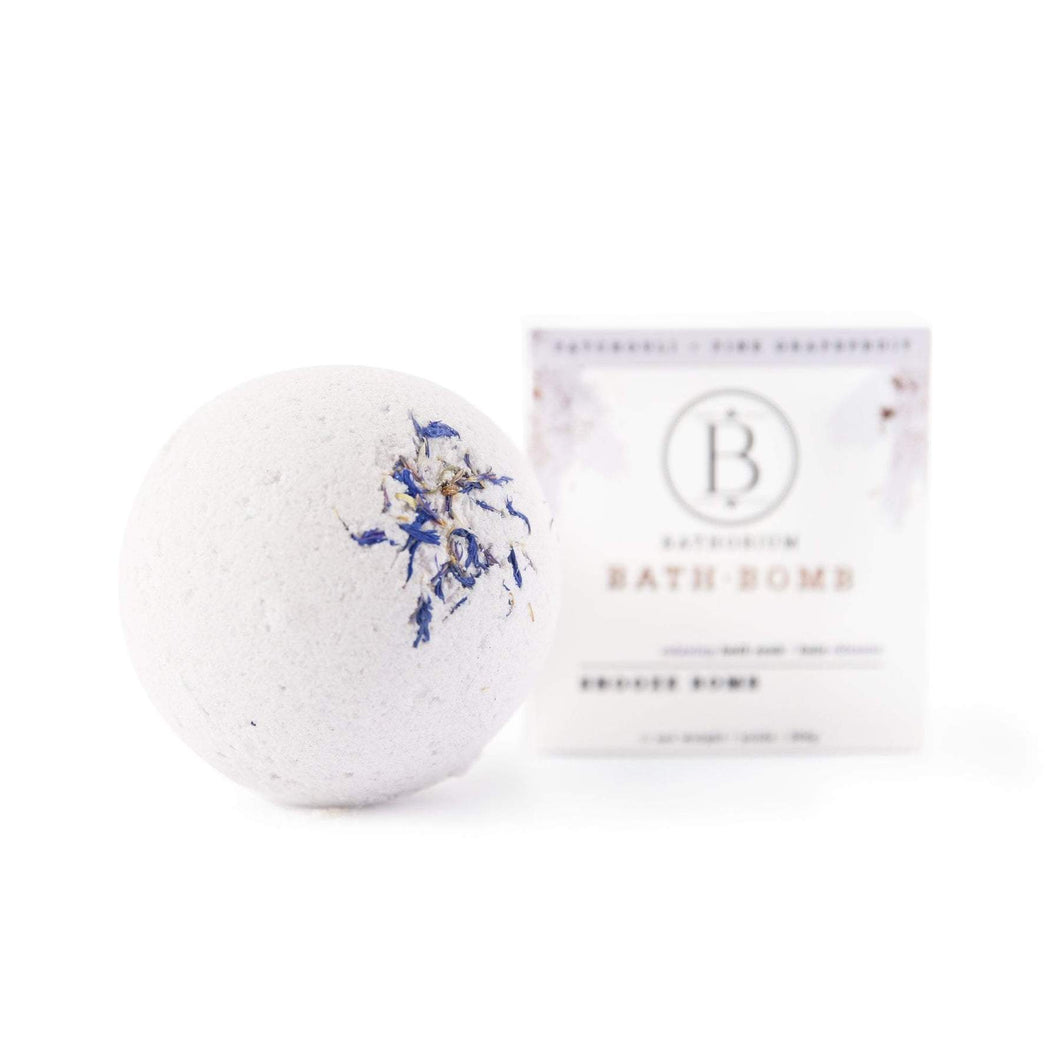 Bombe de bain - Patchouli & pamplemousse rose - SNOOZE BOMB - Bathorium - No. 3
