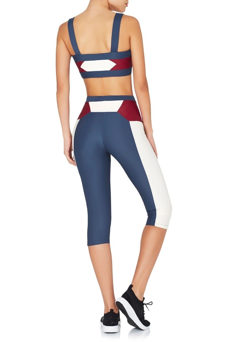 Runyon Leggings Blue White