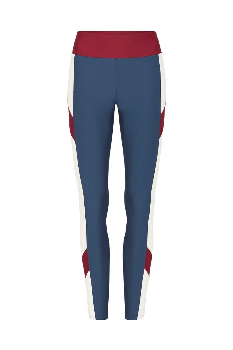 The PCT Leggings Blue Red