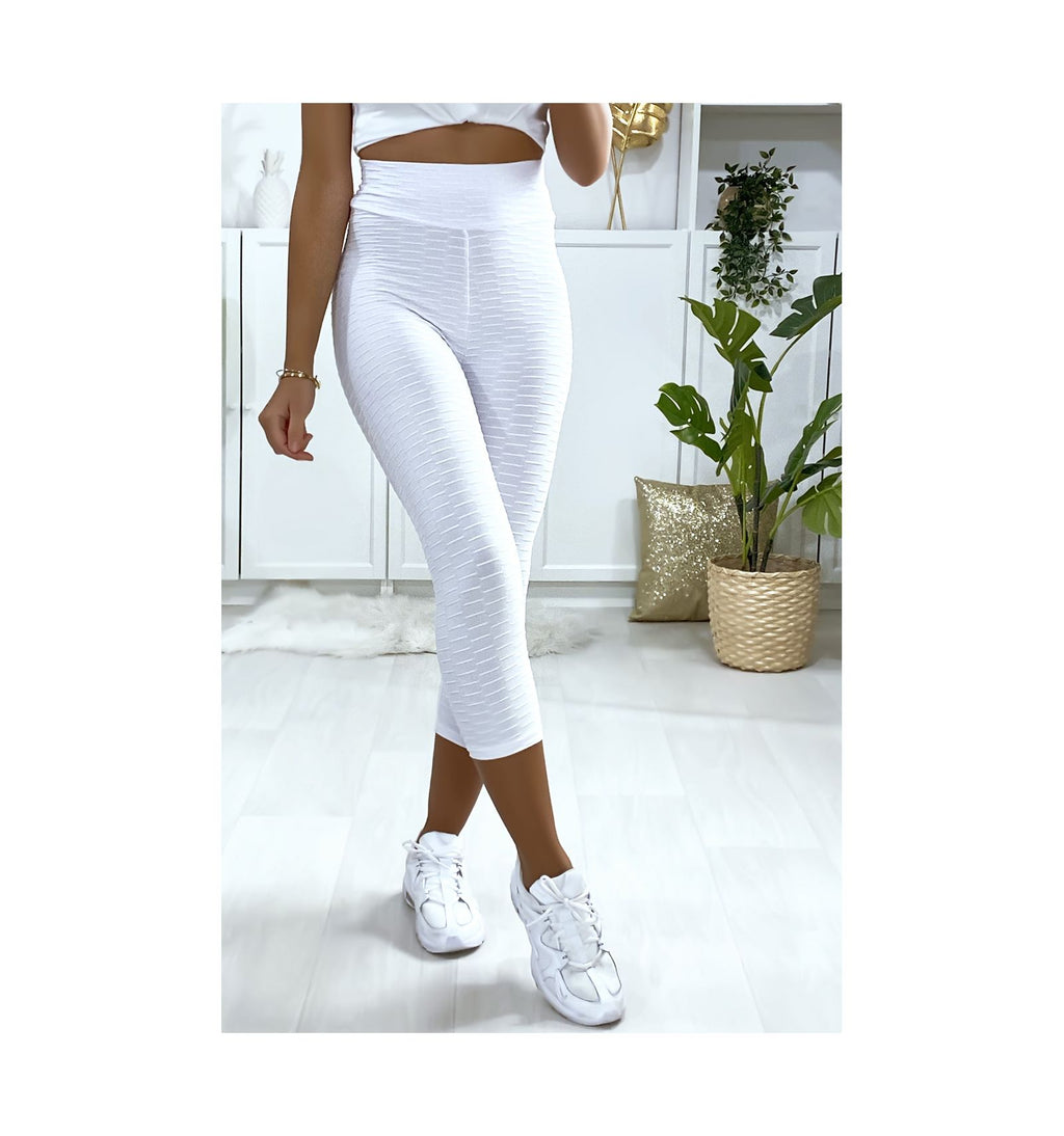 LEGGING PUSH UP BLANC