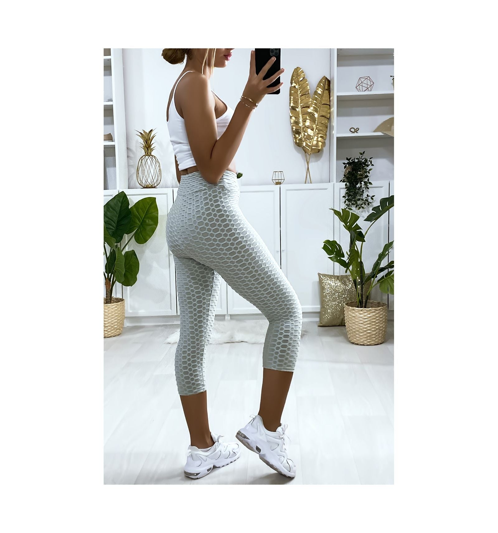 LEGGING PUSH UP GRIS