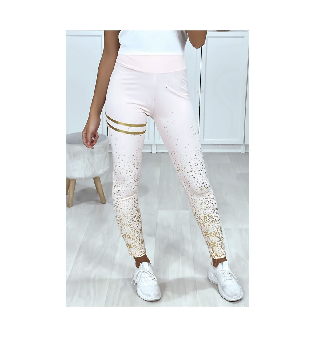 LEGGING ROSE GOLD