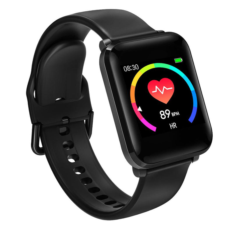 Blitzwolf Blood Pressure Heart Rate Monitor Fitness Tracker Smart Watch Smart Watch & Band Shopperriffic