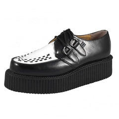 Leather Pointed Toe Creepers by T.U.K