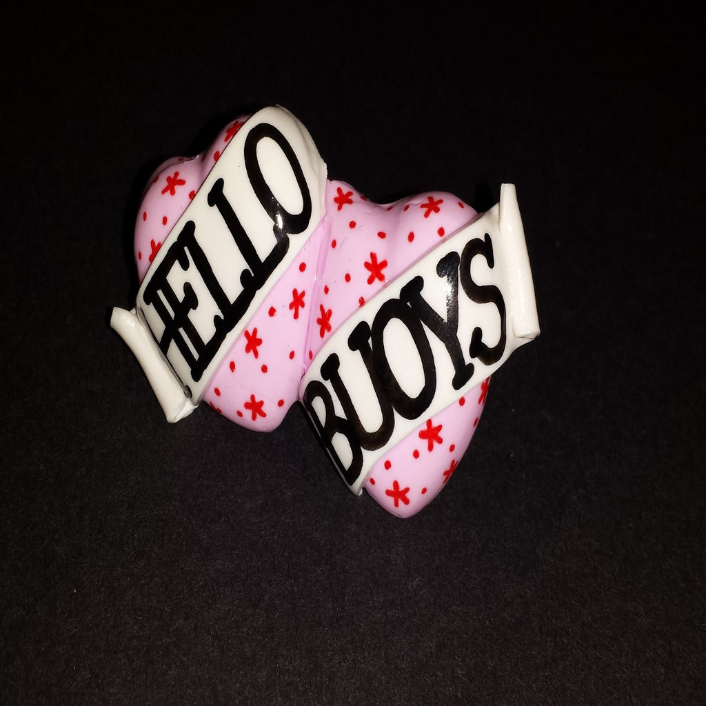 baby pink hello buoys bete noire ring
