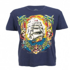 Fine Day For Sailin Tee by Iron Fist