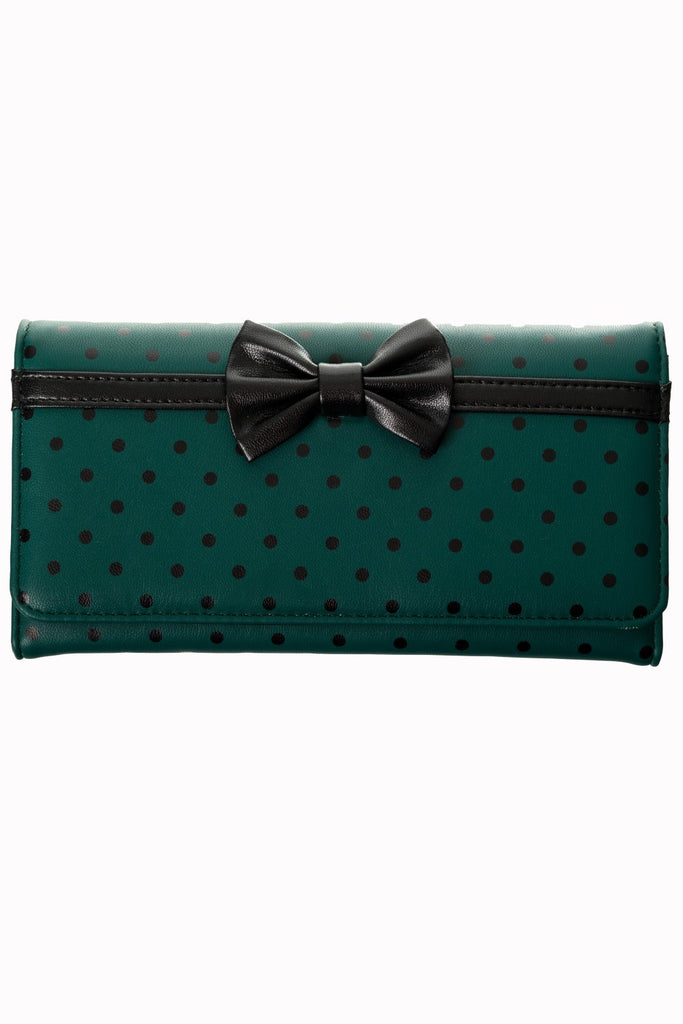 Carla Green and Black purse by Banned