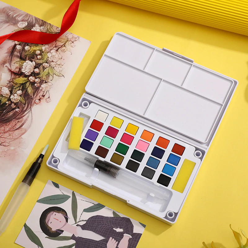 Watercolor Paint Set