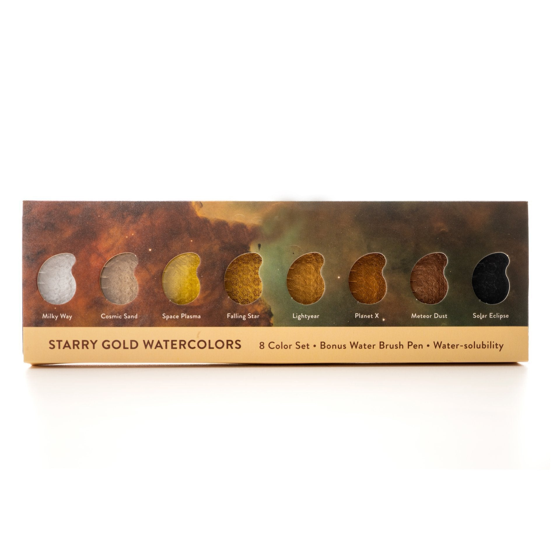 Starry Gold Watercolors 5 Set