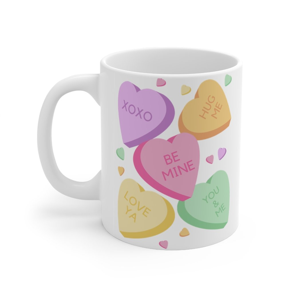 Candy Hearts - Mug 11oz