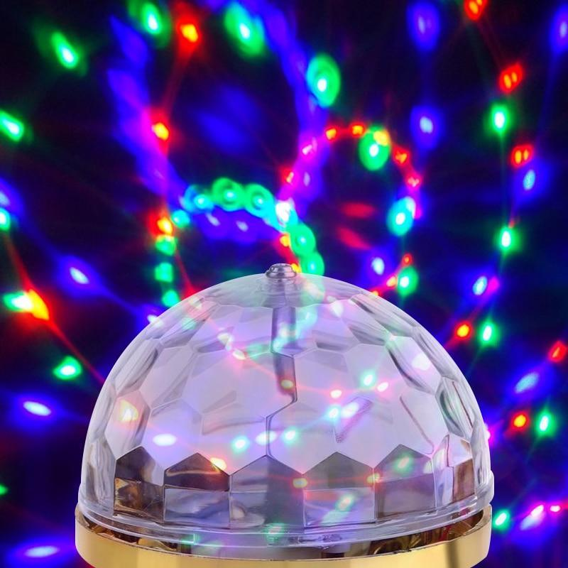 Rotating Crystal Magic Ball