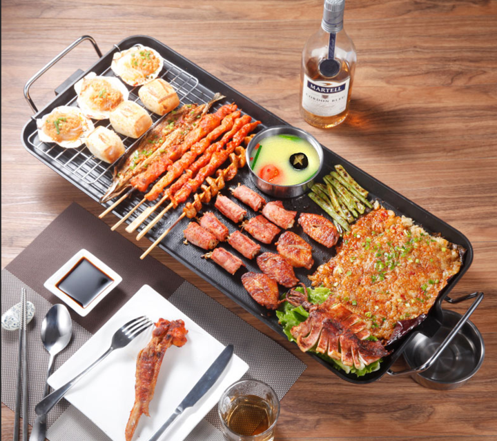 NONSTICK ELECTRIC GRILL PAN