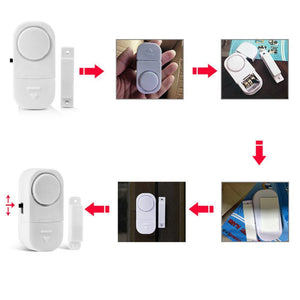 Wireless Security Alarm Personal Security Window Door Home Alarm