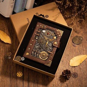 Retro Steampunk Notebook