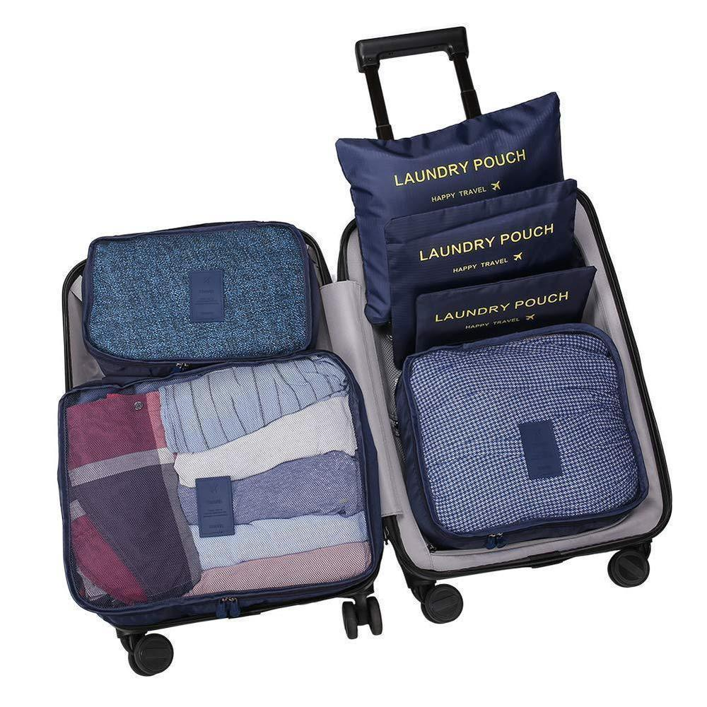 Travel Packing Organizer Set