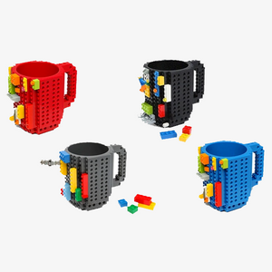 Original Build on Brick Mug - Ideal Cup for Juice, Tea, Coffee & Water - Best Novelty Gift
