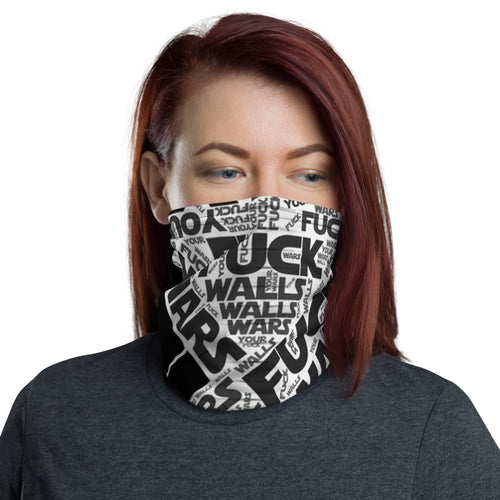 NECK GAITER/FUCK WALLS