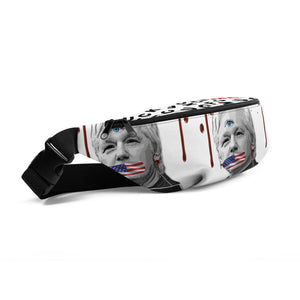 "Fanny Pack ""Assange/Veritas 666"""