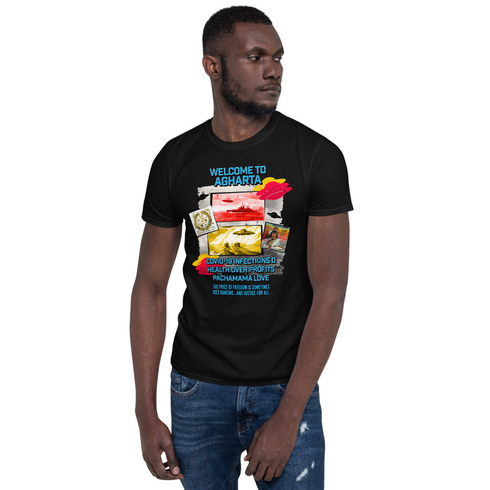 Short-Sleeve Unisex T-Shirt  Welcome to AGHARTA