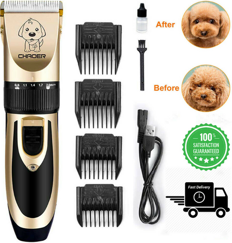 Adapter - PetClip™ Professional Pet Hair Trimmer USB Rechargeable Dog Cat Hair Clipper