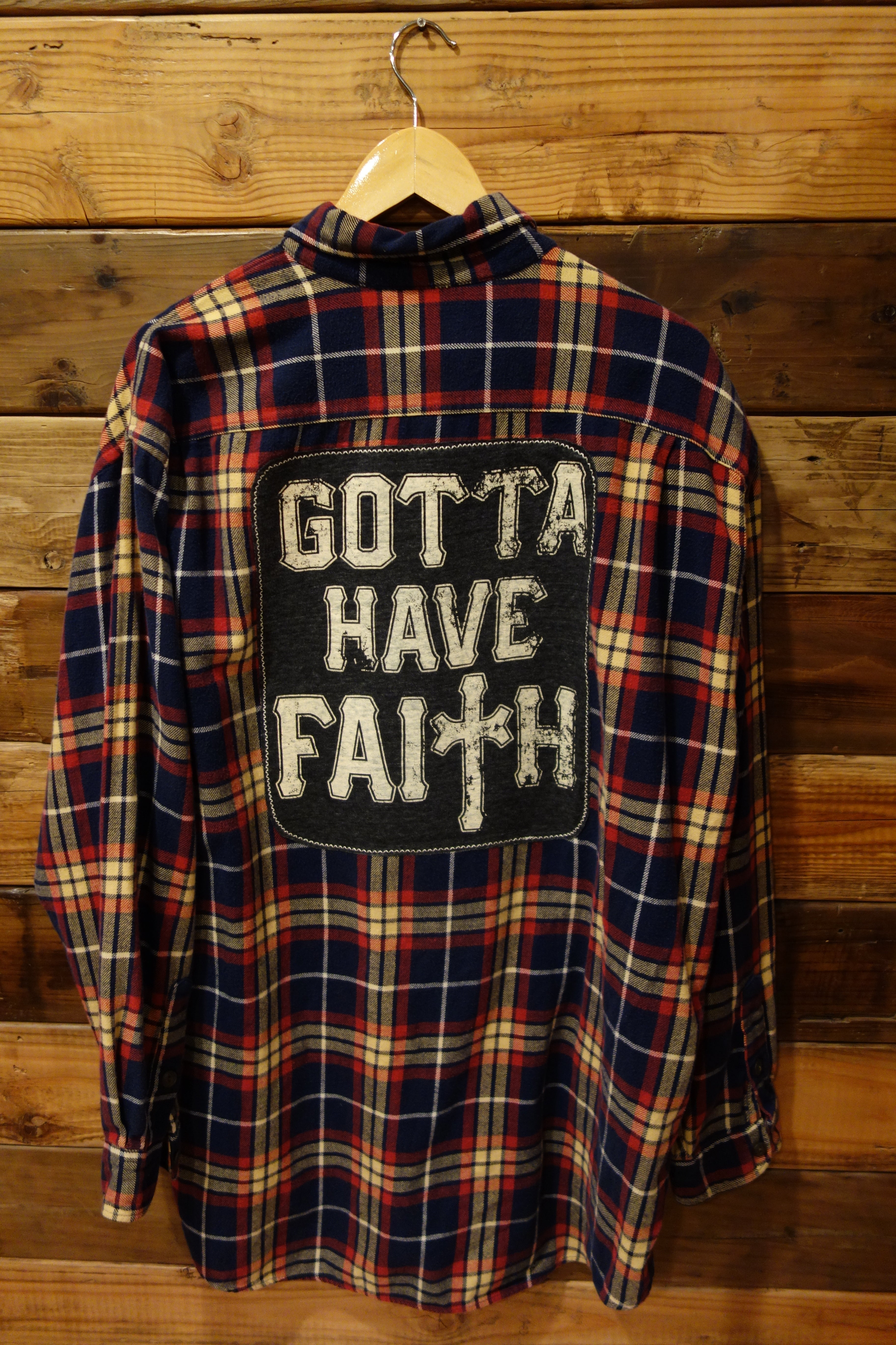 George Michael Gotta Have Faith one of a kind vintage Abercrombie and Fitch big shirt flannel