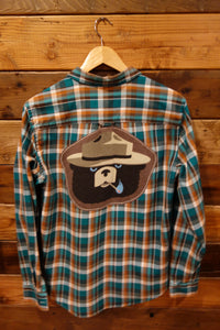 Smokey the Bear one of a kind vintage Hurley shirt