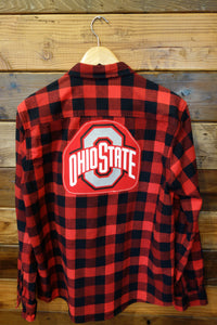 Ohio State one of a kind vintage Oakley flannel shirt
