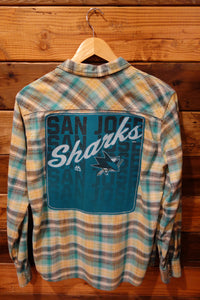 San Jose Sharks one of a kind Levi's vintgae shirt