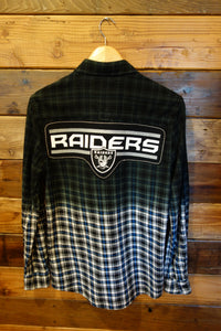 Las Vegas Raiders one of a kind 1991 vintage flannel shirt
