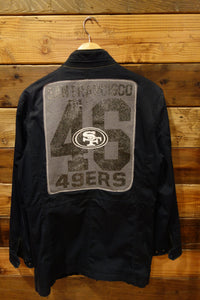San Francisco 49ers one of a kind Gornia vintage black jacket