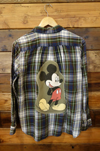 Disney Mickey Mouse Ralph Lauren one of a kind flannel shirt