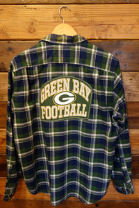 Green Bay one of a kind Nautica flannel shirt