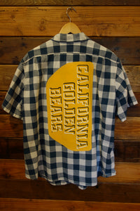 University of California Berkeley Golden Bears one of a oind vintage Eddie Bauer shirt
