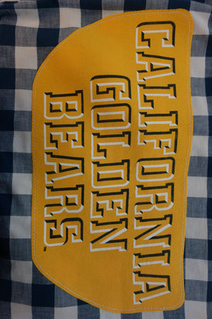 Cal Golden Bears (Unisex - Men's Size XL, Women's Tie-Front)