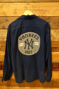 New York Yankees one of a kind flannel shirt