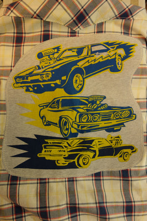 Hot Wheels (Unisex - Men's Size XL, Women's Tie-Front)