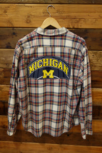University of Michigan one of a kind vintage J. Crew shirt