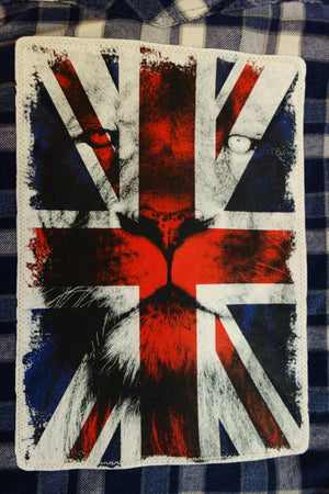 Fierce Union Jack (Unisex - Men's Size XL)