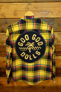 American Eagle Outfitters vintage flannel one of a kind Goo Goo Dolls