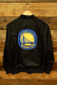 Member's Only, one of a kind bomber jacket, NBA, Golden State Warriors, Golden State Warriors Classic Flannel Jacket