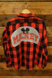 Five Brothers vintage lumberjack flannel, Disney Mickey Mouse
