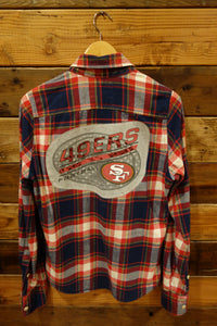 vintage flannel Hollister, one of a kind, San Francisco 49ers Football